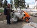 Príprava a posviacka sochy sv. Michala Archanjela_18
