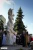 Príprava a posviacka sochy sv. Michala Archanjela_26